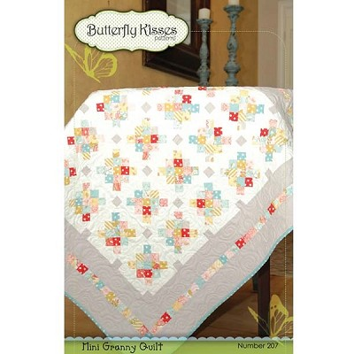 Mini Granny Quilt Pattern by Butterfly Kisses Pattern