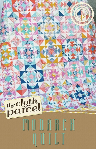 Monarch Quilt Pattern by The Cloth Parcel