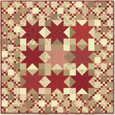 Nantucket Quilt Pattern by Minick & Simpson