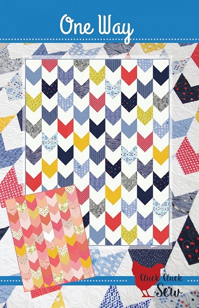 One Way Quilt Pattern by Cluck Cluck Sew
