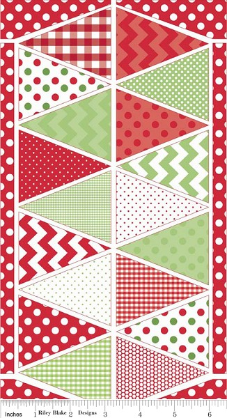 Holiday Banners P560 Multi Christmas Panel by Riley Blake