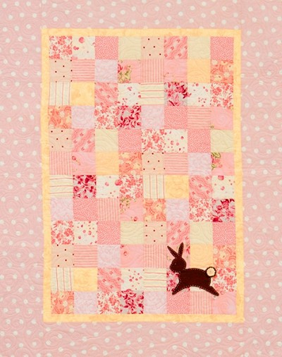 Patchwork Rabbit Quilt Pattern by Stitch Studios