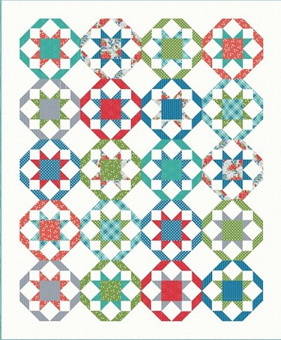 Promenade Quilt Kit by Cluck Cluck Sew