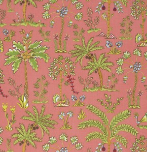Haute Girls PWDF209 Pink Palm Trees by Dena Fishbein for Free Spirit