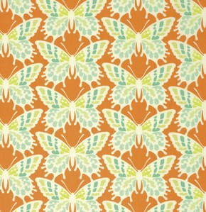 Clementine PWHB055 Tangerine Flutterby by Free Spirit