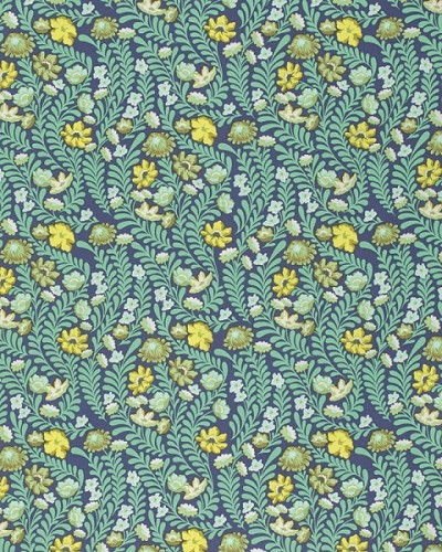 Eden PWTP073 Sapphire Wildflower by Tula Pink for Free Spirit
