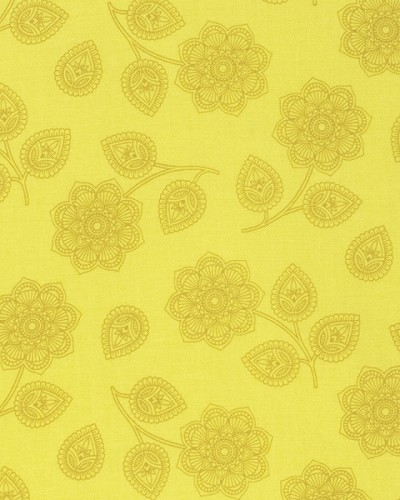 Eden PWTP074 Mustard Henna by Tula Pink for Free Spirit