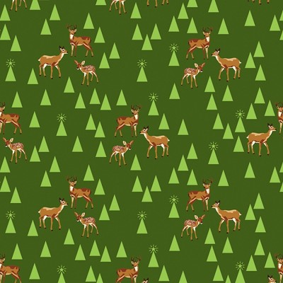 Holiday Homies PWTP106 Pine Fresh Bambi Life by Free Spirit