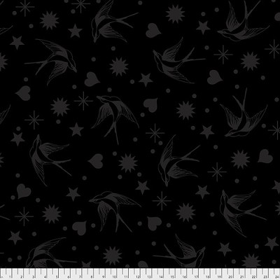 Linework PWTP157 Ink Fairy Flakes by Tula Pink for Free Spirit