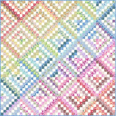 kits beginners quilt for keepsake illusions quilting kit
