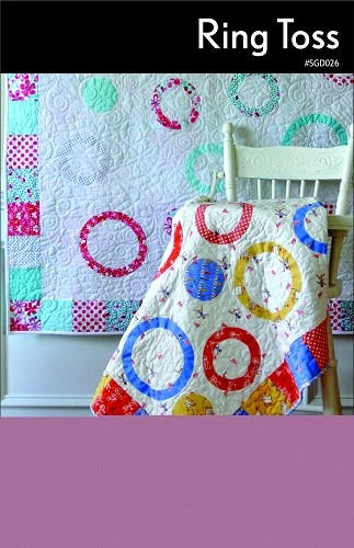 Ring Toss Quilt Pattern by Swirly Girls Design