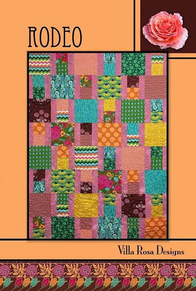 Rodeo Quilt Pattern by Villa Rosa Designs