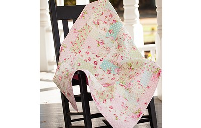Rosey Baby Quilt Kit by Tanya Whelan for Free Spirit