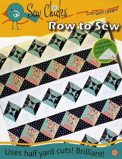 Row to Sew Quilt Pattern by Sew Chicks