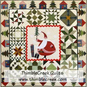 Santa's Village Quilt Pattern - Thimblecreek Quilts : village quilts - Adamdwight.com