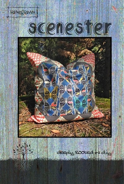 Scenester Pillow Pattern by Villa Rosa Designs-Homegrown