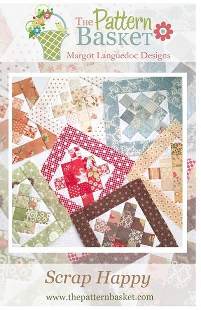 Scrap Happy Quilt Pattern by The Pattern Basket