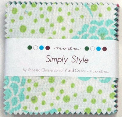 Simply Style Mini Charm Pack by V & Co for Moda