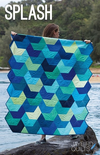 Splash Quilt Pattern by Jaybird Quilts