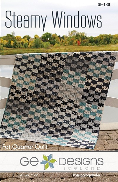 Steamy Windows Quilt Pattern by GE Designs