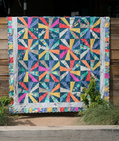 Cartwheels Quilt Kit by Windham
