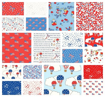 Storybook Americana 19 Fat Quarter Set by Windham