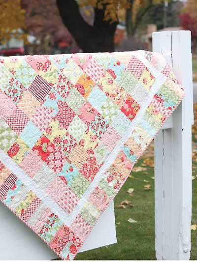 Summertime Charm Quilt Pattern by Shabby Fabrics