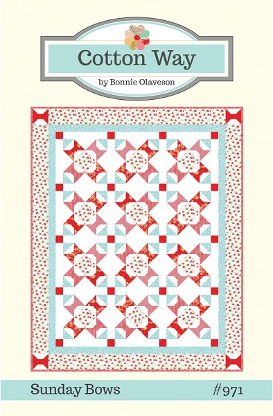 Sunday Bows Quilt Pattern by Cotton Way