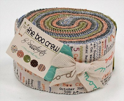 The Boo Crew Jelly Roll by Sweetwater for Moda