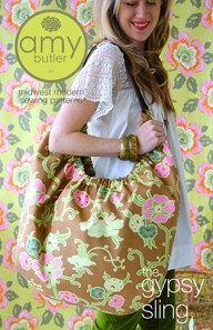 The Gypsy Sling Bag Pattern by Amy Butler