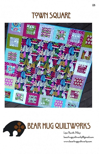 Town Square Quilt Pattern by Bear Hug Quiltworks
