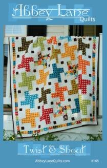 Twist and Shout Quilt Pattern by Abbey Lane Quilts