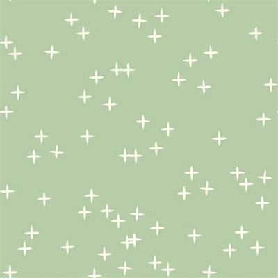 Mod Basics 3 Organic MB3-01 Mint Wink by Birch Fabrics