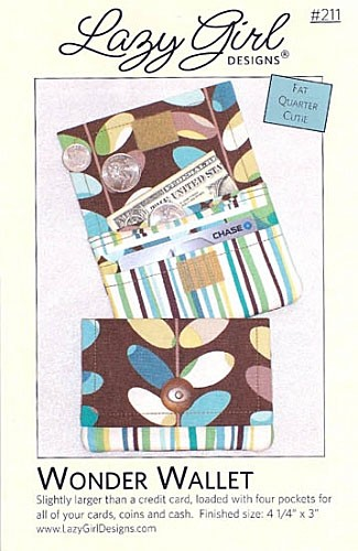 Wonder Wallet Pattern by Lazy Girl Designs